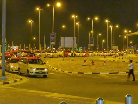 Taxiuri la aeroport Dubai