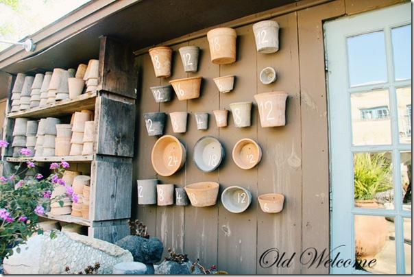duh pensacol garden shop clay pots old welcome