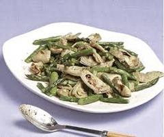 art hearts and asparagus