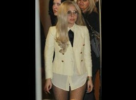 Lady Gaga Without Pants