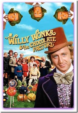 Imagem do filme A Fantástica Fábrica de Chocolate, versão de 1971