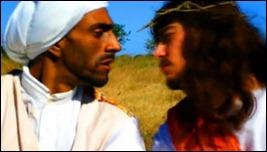 beijo gay Jesus e mulçumano