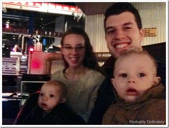 Reid, Karissa, Dustin & Everett