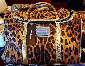 Dolce & Gabbanna Leopard print bag