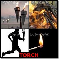 TORCH- 4 Pics 1 Word Answers 3 Letters
