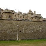 tower of london in London, London City of, United Kingdom