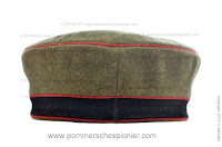 WWI German field cap
