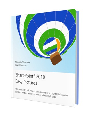 The book SharePoint Easy Pictures