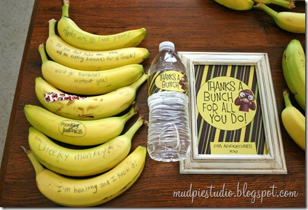Funny Banana Breakfast for Teachers