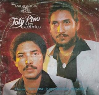 Toty Pino Y Los Excelentes  El Malabarista Del Pincel  LP Front