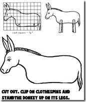 donkeys-clothespins-bw-printables