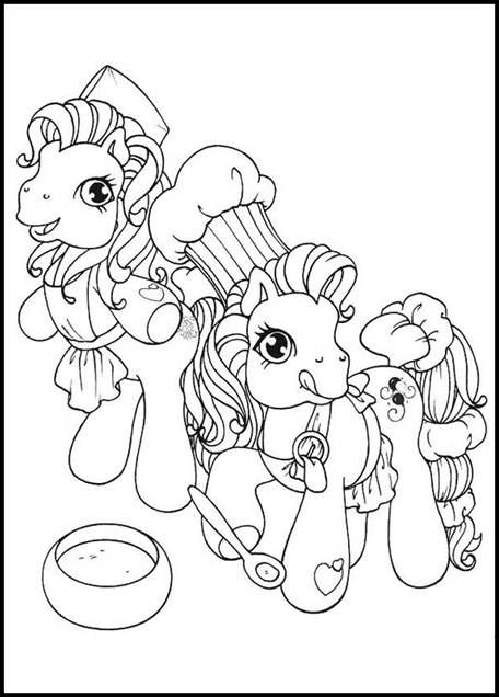 My little pony colorear 016