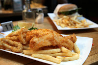 Fish 'n Chips from Sea Salt on Degraves Street