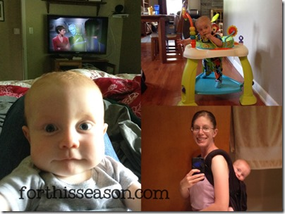 Day in the Life - Managing a baby