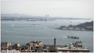 Вид на Ускудар. Стамбул.