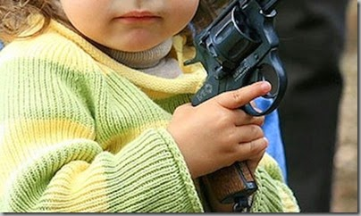 Kid with a gun
