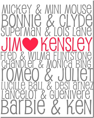 Jim and Kensley Printable