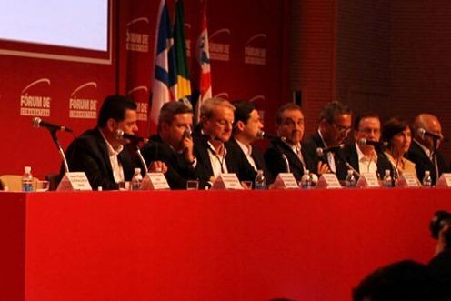 Governador Jaques Wagner participa do LIDE -12ª Fórum Empresarial de Comantuba.<br />Foto: Manu Dias/GOVBA
