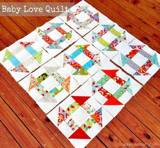 Baby Love Quilt 3