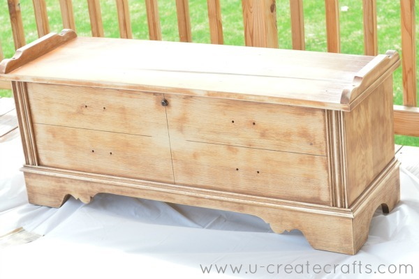 DIY Cedar Chest Makeover 4
