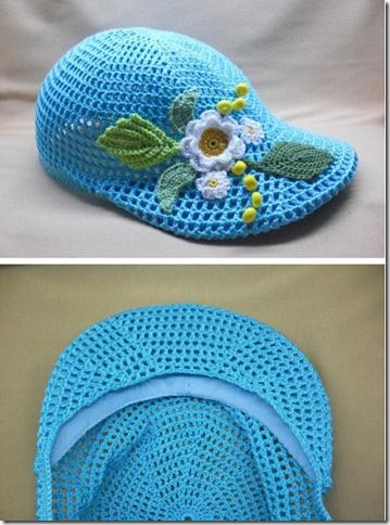 gorra de crochet patron1