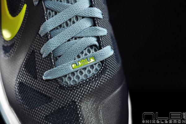 The Showcase LeBron 9 Low 8220ObsidianCyberWhiteBlue Grey8221
