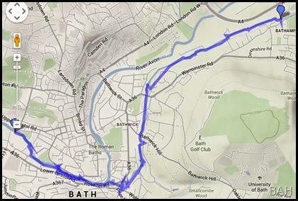 Bathampton Map