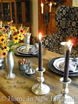 fall candes pewter