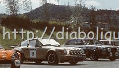 José Gonçalves e Miguel de Oliveira no HG-39-89 no Rali de Ourense de 1977