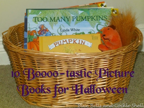 10 Boo-tastic Picture Books for Halloween | From Blue Bells and Cockle Shells