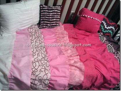 Finished Bed & Pillows (3)