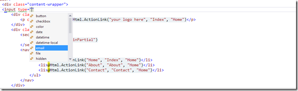 Html5SupportVisualStudio2012