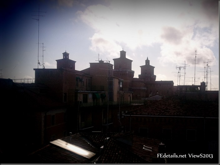Castello Estense views, Ferrara, Italy, Photo1