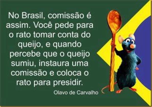 Comissoes no Brasil - Olavo de Carvalho