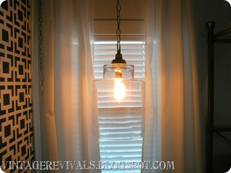 Hanging Glass Light