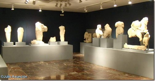 Conjunto escultórico ibérico de Porcuna - Museo de Jaén