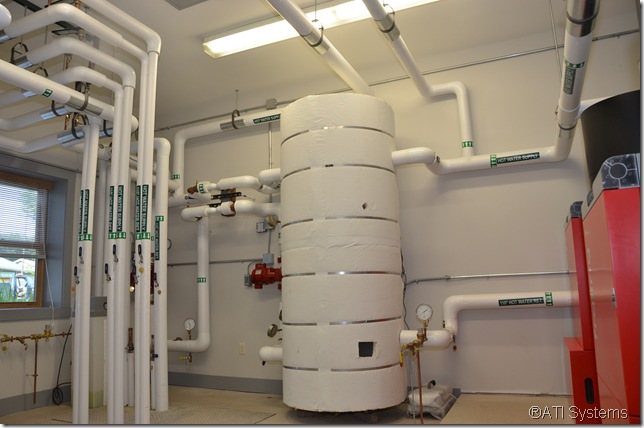 P4 Pellet Boiler Buffer Tank