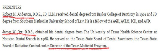 Dental Director of Texas Medicaid Program - Orr2