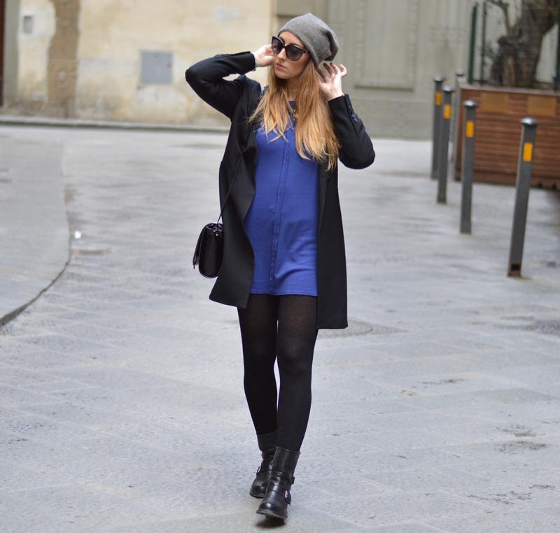Zara coat, Zara, Zara bag, Strategia biker boots, biker boots, Tezenis, Vestiti Tezenis, Tezenis dress, fashion blogger, fashion blogger italiane, migliori fashion blogger italiani, cruciani, braccialetti Cruciani, Cruciani bracelets, H&M necklace, H&M accessori, collana H&M