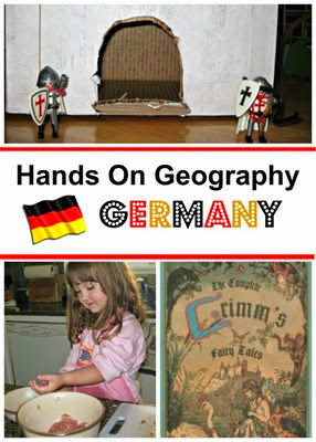 Hands On Geography from Planet Smarty Pants - Germany