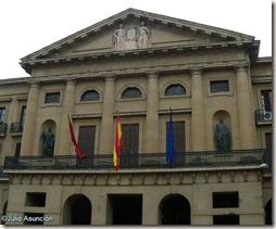 Palacio de la Diputación - Fachada occidental - Pamplona