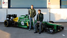 HD pictures 2013 Launch Caterham CT03 F1 car