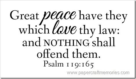 Psalm 119:165