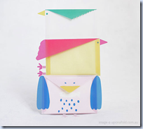 Paper Bird Envelopes
