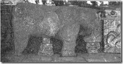 toro del puente de Salamanca en el Museo Provincial 1919