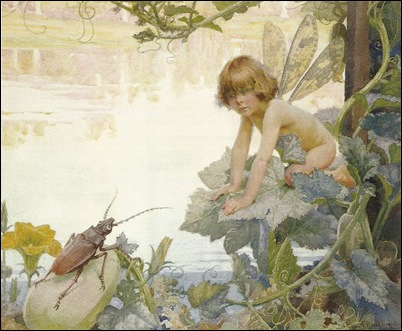 Arthur Herbert Buckland (1870-1927), The Fairy and the Beetle