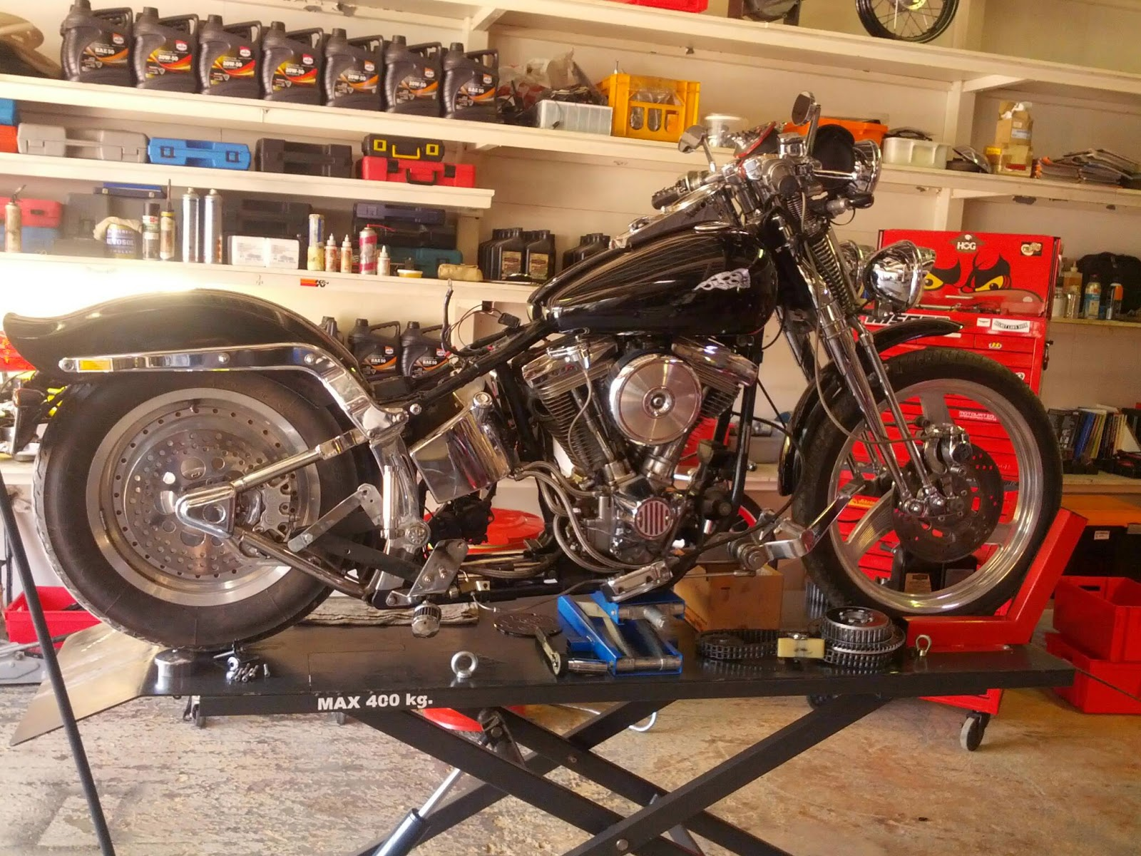 Working Class Motorcycles Big Gear Box Renovation For Evo 1991 Of Motorcycle Broken Trapdoor The Wall Inside Lainshaft Splinted New Coming Soon