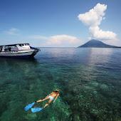 Snorkeling in Manado