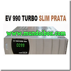 EVOLUTIONBOX EV-990 TURBO SLIM (PRATA)