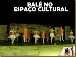 Balé no espaço cultural cópia